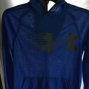 Boys Under Armour Hoodie Size YL